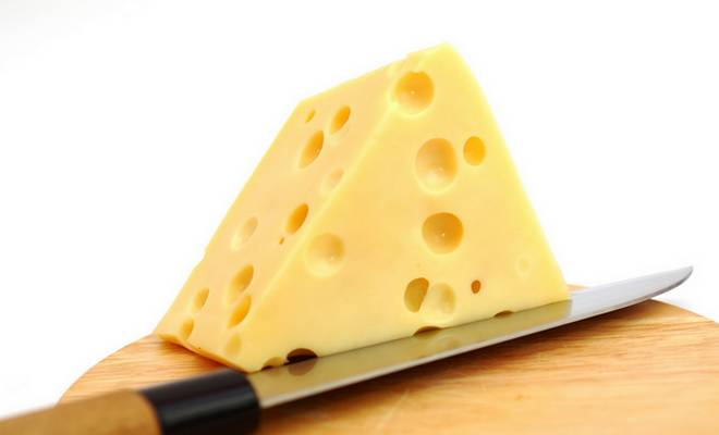 Emmental fromage a trous