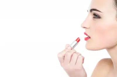 maquillage rouge à lèvres beauté