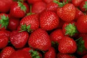 Bienfaits des fraises sante