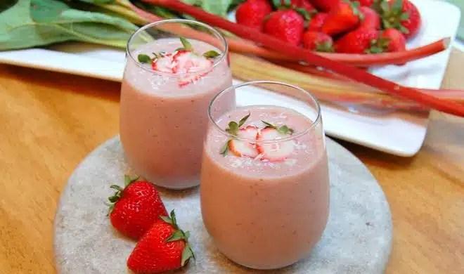 Recette de smoothie gourmand à la fraise