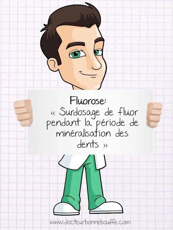 Définition fluorose