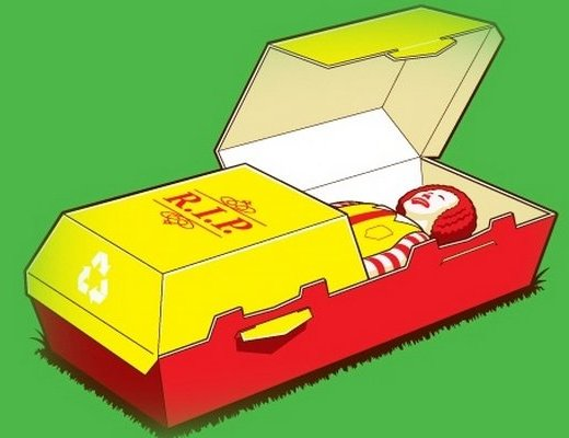 RIP Ronald McDonalds