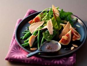 Salade foie gras périgourdine
