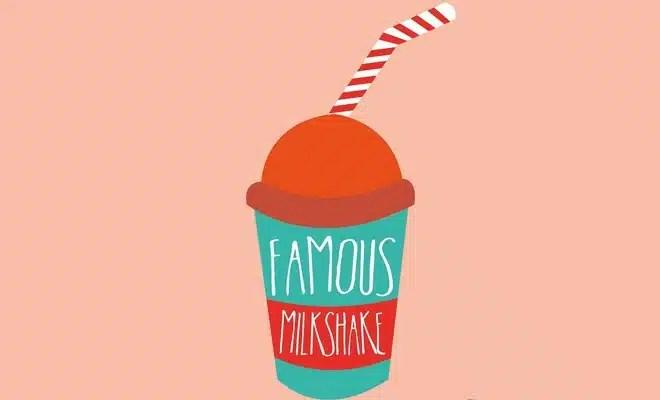 Milkshake insolite