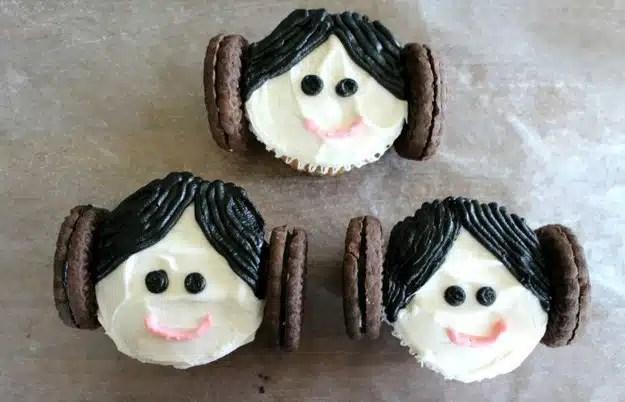 cupcakes princess leia