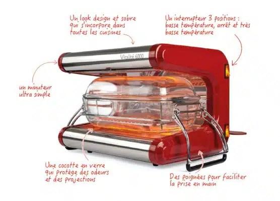 omnicuiseur vitalite cuisson basse température