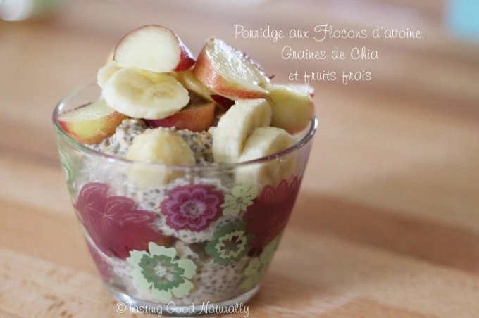 porridge graines de chia