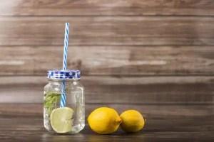 eau aromatisee au citron