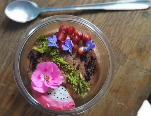mousse au chocolat sans beurre
