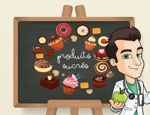 Produits sucres et alimentation saine