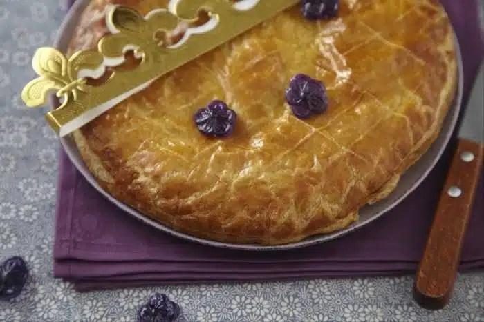 recette galette des rois originale à la violette