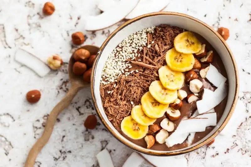 smoothie bowl chocolat