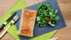 recette saumon épinards