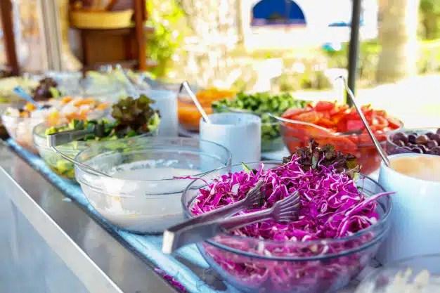 buffet salades