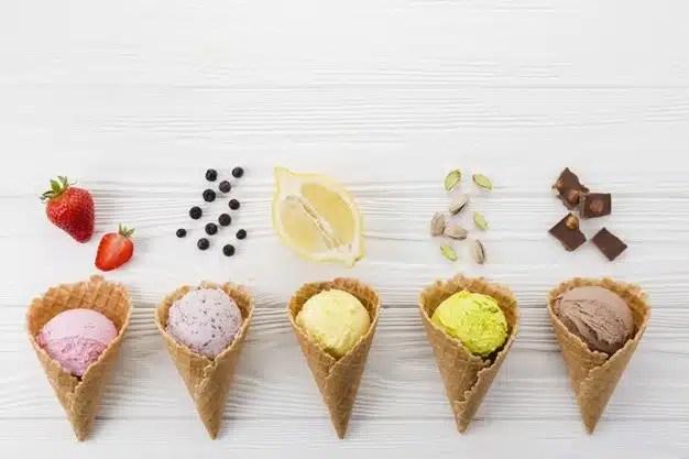 glaces dessert original buffet
