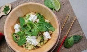 Recette : salade express de quinoa d'été