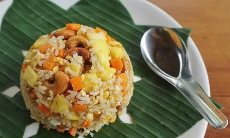 riz sauté à l'ananas recette simple