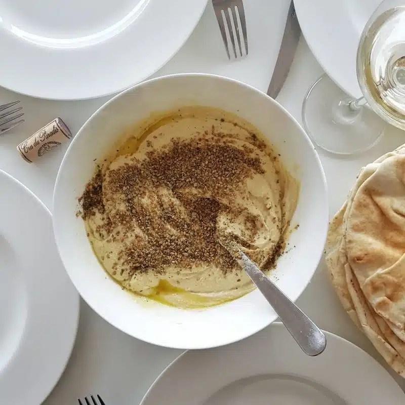 houmous libanais recette