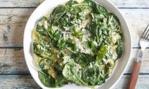 Recette de l'omelette aux légumes verts