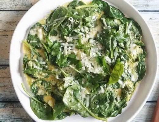 omelette légumes verts recette