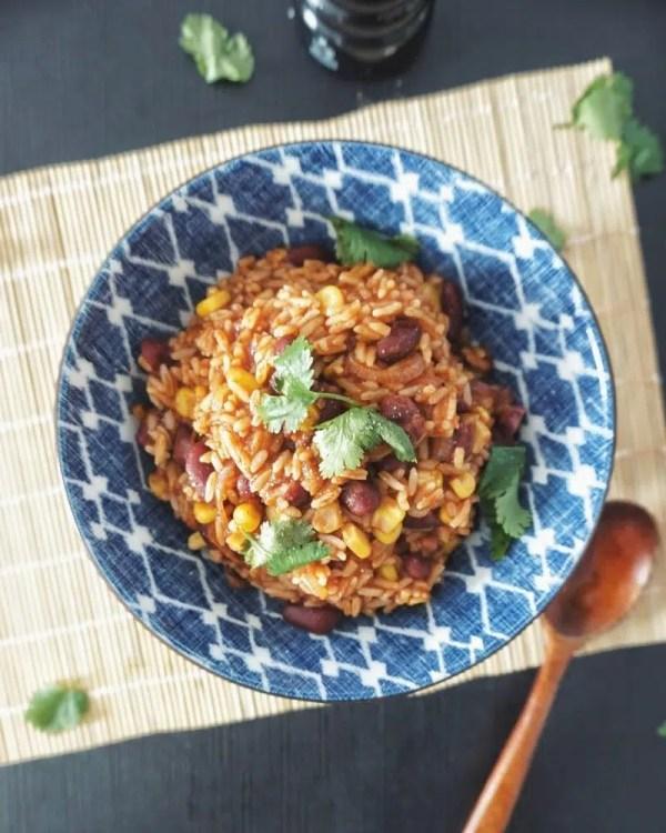 riz à la mexicaine recette