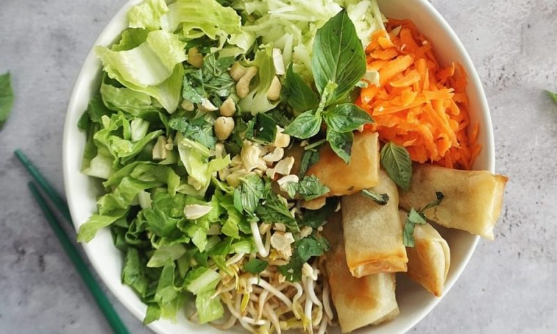 salade bobun recette
