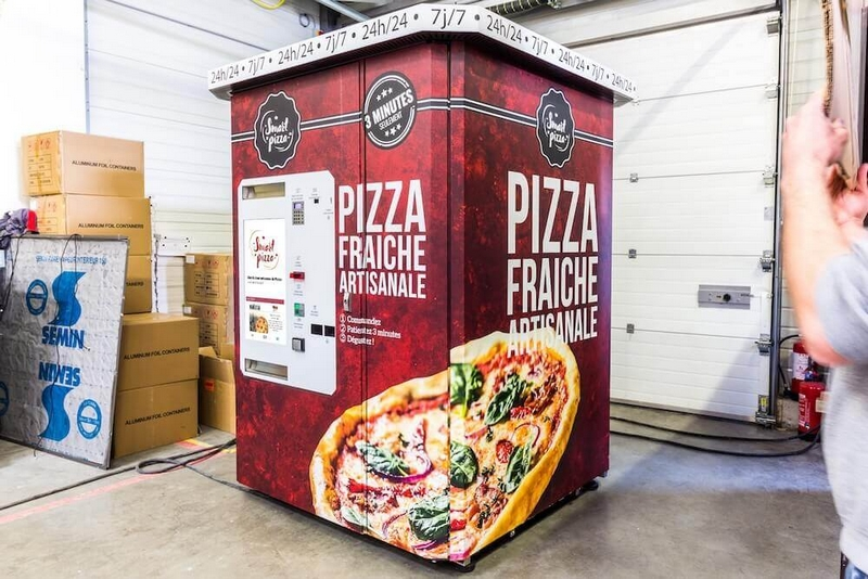 smart pizza distributeur automatique
