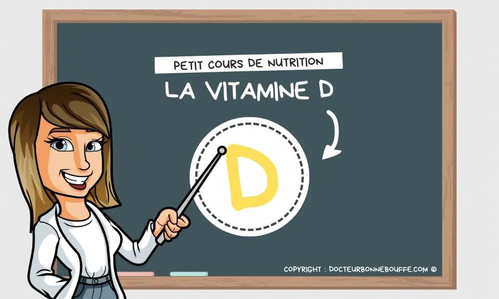 vitamine D bienfaits santé