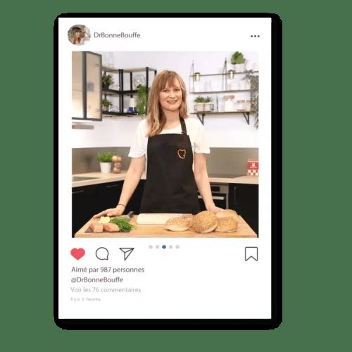 Blogueuse culinaire & Diététicienne @DrBonneBouffe