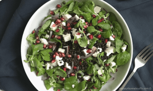salade de lentilles beluga recette