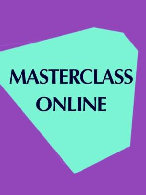 """masterclass """"online"""""""