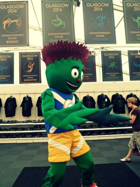 Glasgow 2014 Commonwealth Games mascot Clyde