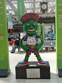 Clyde's Trail Glasgow 2014: Central Station