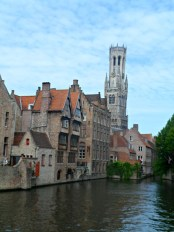 Bruges canal boat trip