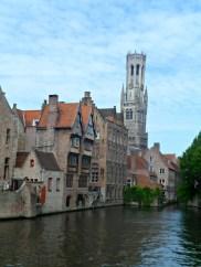 Bruges canal boat trip