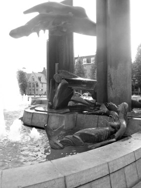 Fountain in 't Zand, Bruges