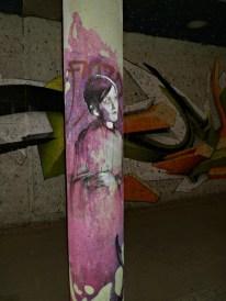 Underpass street art in Munich