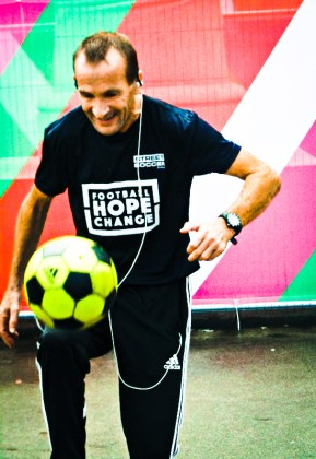 Skills on display at the Homeless World Cup in Glasgow