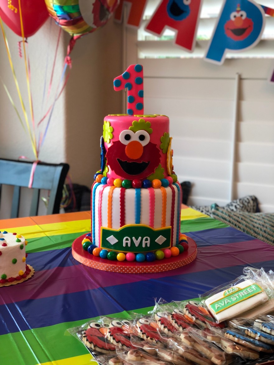 Ava's First Birthday—A Sesame Street Celebration