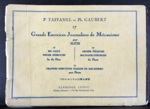 Taffanel and Gaubert My Well-Worn Copy