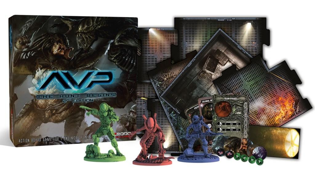 Alien vs Depredador juego de mesa