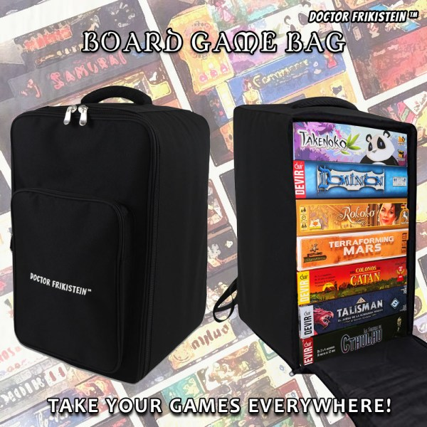 Board Game Bag Tablet Top Backpack Mochila Bolsa Juegos Mesa