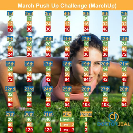 MarchUp Exercise Challenge - DoctorJeal