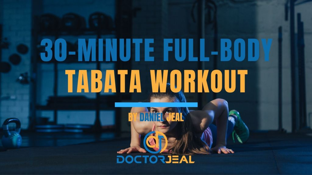 30-minute full-body Tabata workout Title female