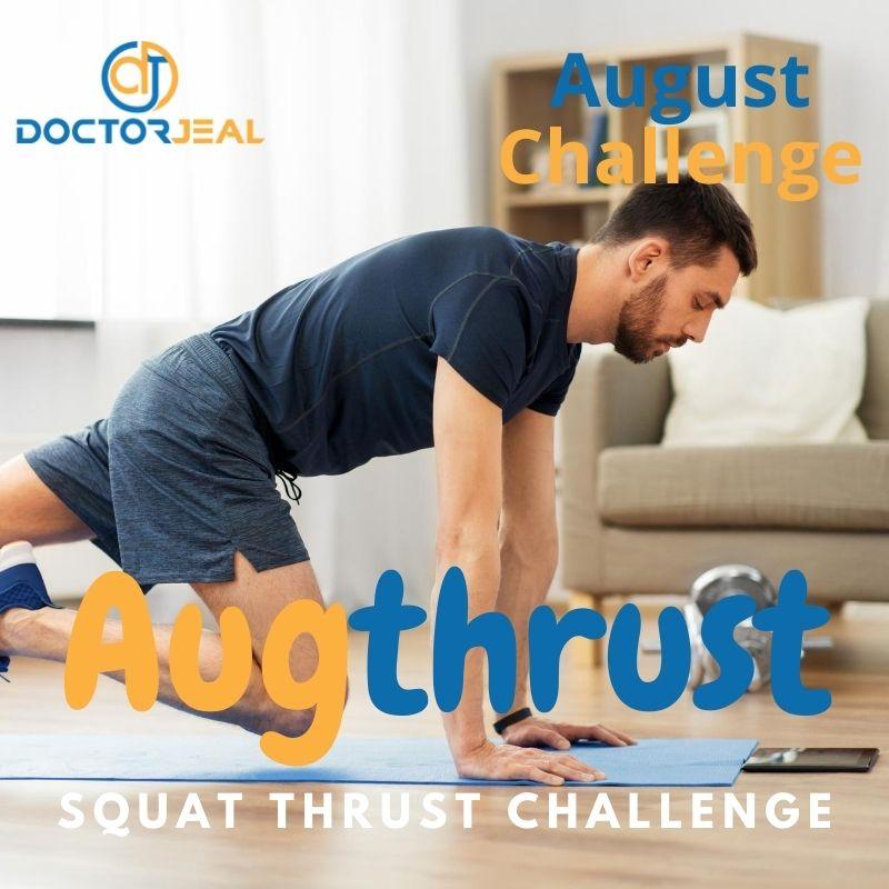Augthrust Squat Thrust Challenge Title - Male version
