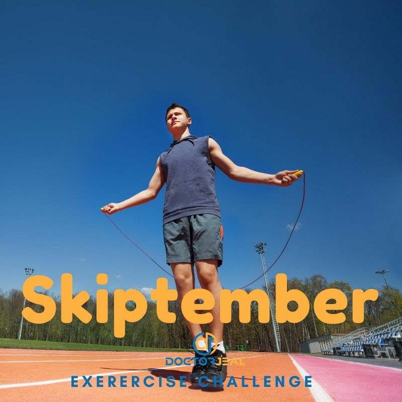 Skiptember Exercise Challenge - DoctorJeal