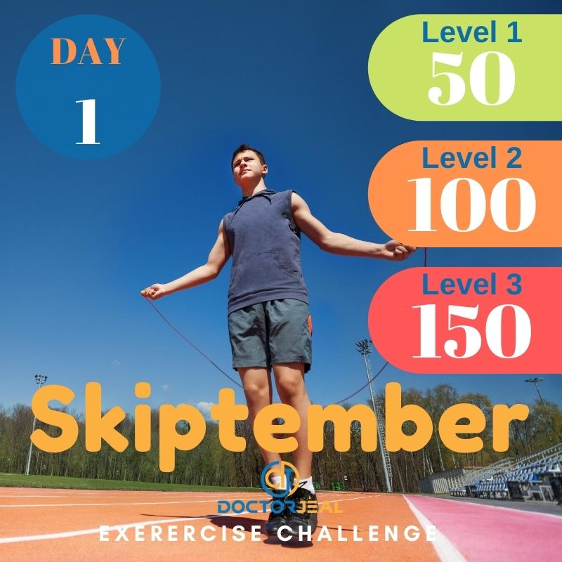 Skiptember Skipping Challenge - Male Day 1