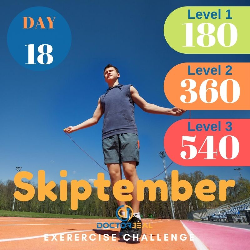 Skiptember Skipping Challenge - Male Day 18