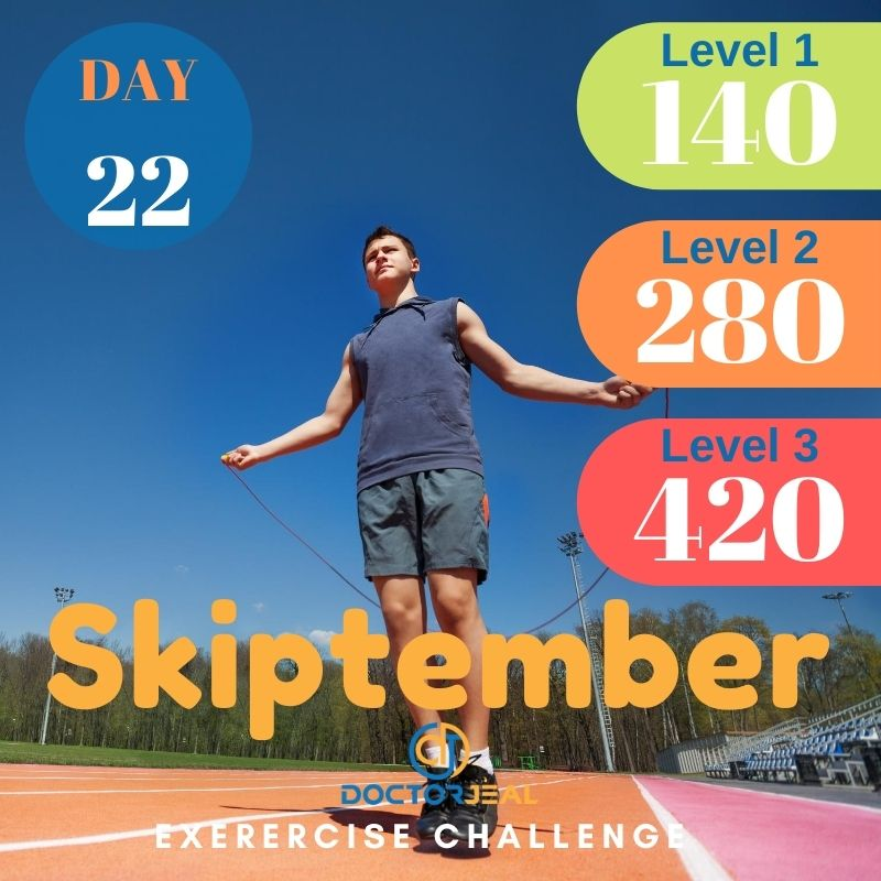 Skiptember Skipping Challenge - Male Day 22