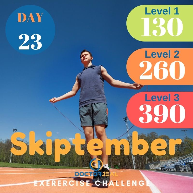 Skiptember Skipping Challenge - Male Day 23